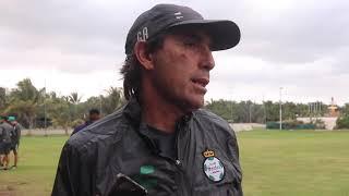 embeded bvideo Atención a Medios: Guillermo Almada - Santos 4-2 Cimarrones - Pretemporada Guerrera