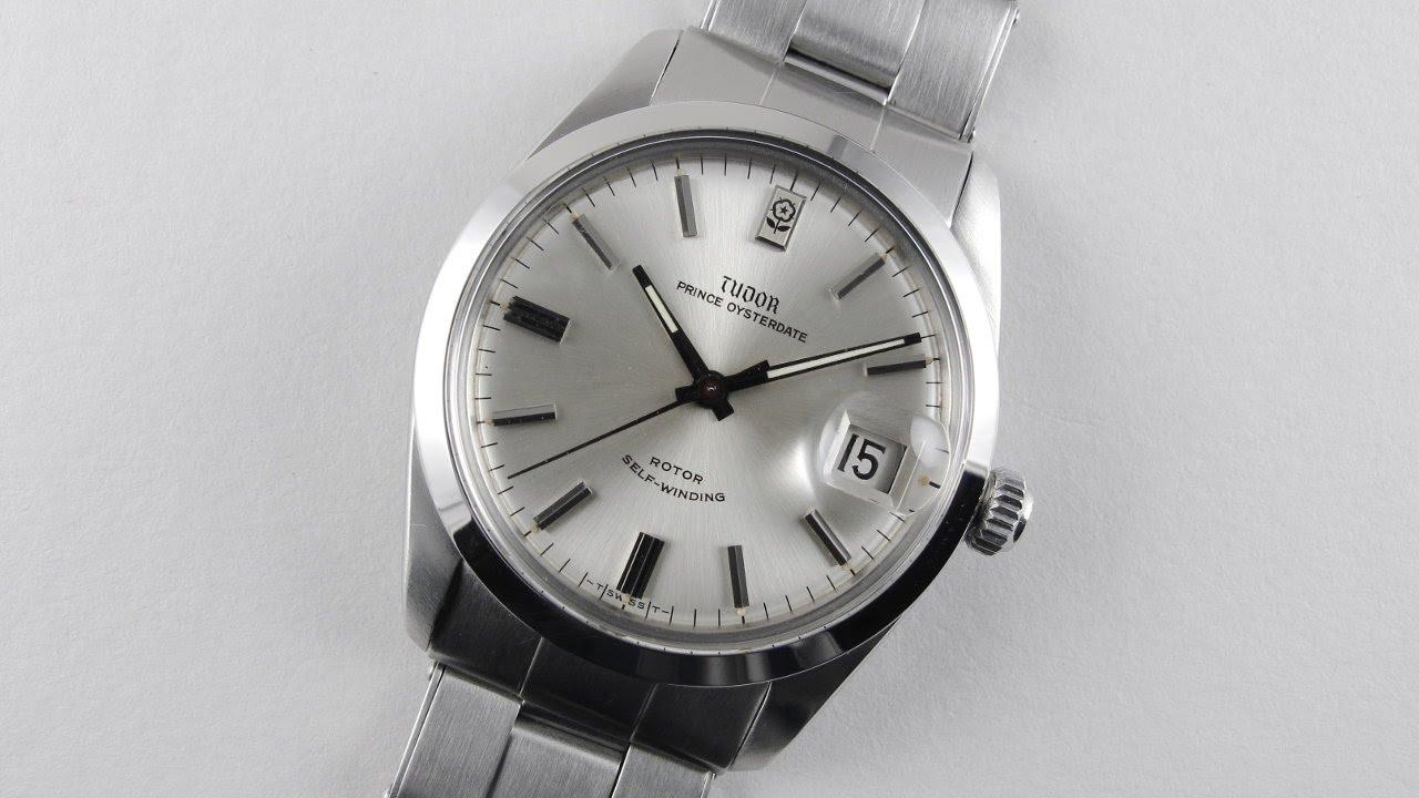 42a33cb441 Steel Tudor / Rolex Prince Oysterdate Ref. 7996 vintage wristwatch, circa  1969 - YouTube