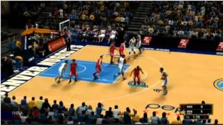 NBA 2K13 Gameplay: Denver Nuggets vs. Houston Rockets - From 2K Livestream Xbox 360 #NBA2K13