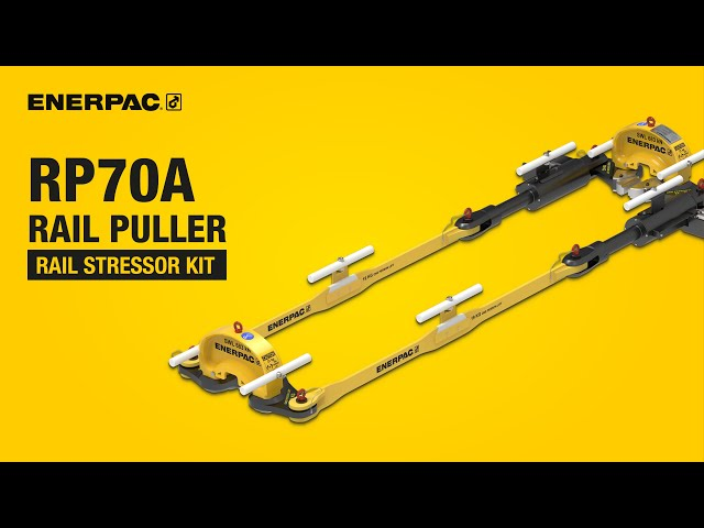 Rail Stressor Kit - RP70A Rail Puller | Enerpac