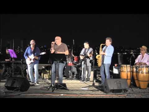 Julio Fernandez and Friends at Hoboken Sinatra Park 8 22 2013