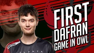 DAFRAN'S FIRST GAME IN OWL and HE IS PLAYING TORB!!!