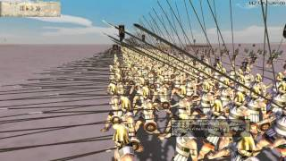 Rome Total War HD Online Commentary Battle Video 80 Semi - Historical Match Ups with Aceblazer25