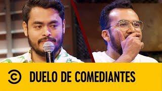 Cojo Feliz VS Chaparro Salazar | Duelo De Comediantes | Comedy Central LA