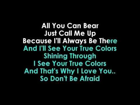 Justin Timberlake & Anna Kendrick  True Colors karaoke