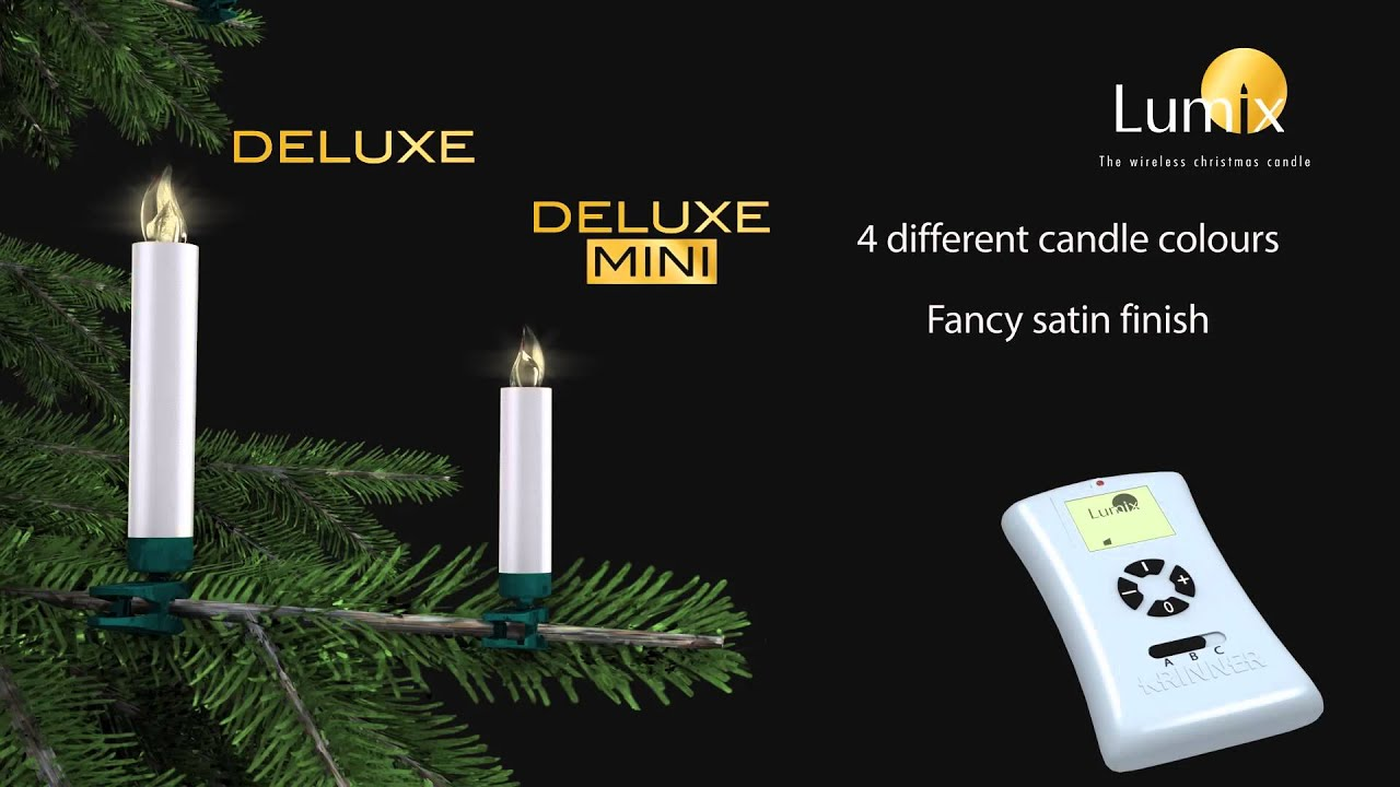 Krinner 3d Product Video Lumix Wireless Christmas Candles