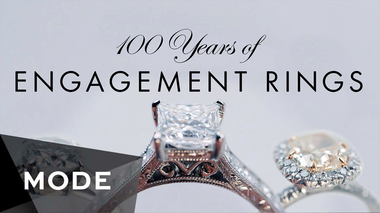 100 Years of Engagement Rings ☆ Glam.com - YouTube