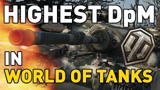 Highest DpM in World of Tanks... the Tortoise