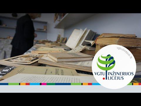 Senų knygų paroda, skirta Knygnešio dienai (2019.03.20)