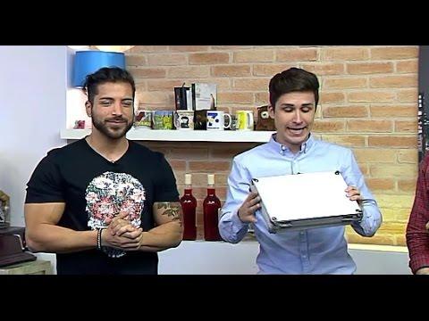 Xemi Galindo con Alain (Gran Hermano 17) en V7Show