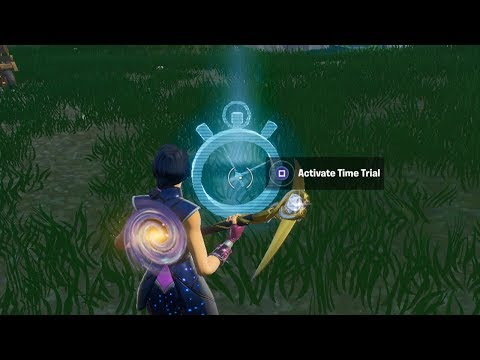 Complete Time Trial East of Pleasant Park or South West of Salty Springs Guide - Fortnite