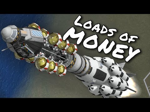 KSP Galileo's Planet Pack - Ep 7 - Make Money Fast with the Tourist rocket