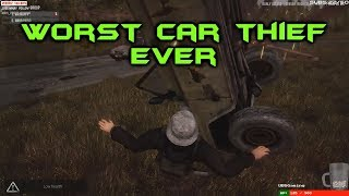 Next Day: Survival - Worst Car Thief, Ever!