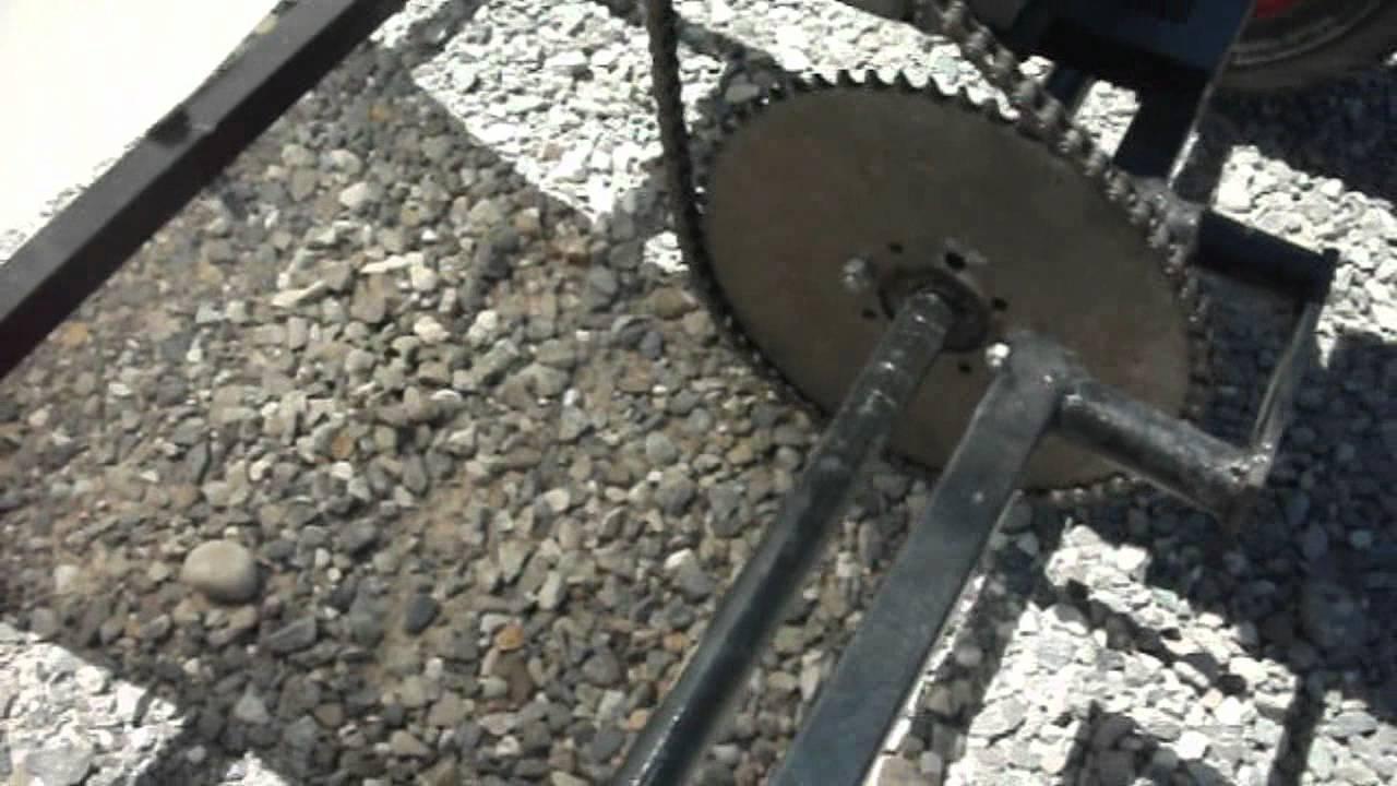 Mon kart fait maison 200cc 1 2 youtube for Arbalete fait maison puissante