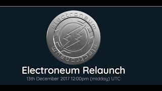 Electroneum Price Rises With News of Relaunch