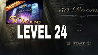 New 50 Rooms Escape Level 24 Walkthrough