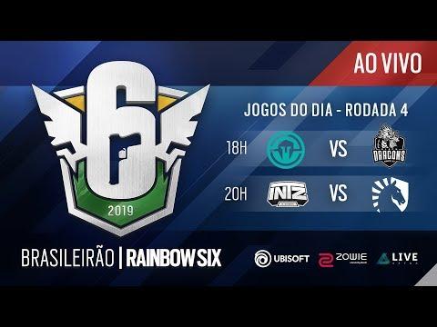 [BR6 2019] IMMORTALS vs BD / INTZ vs LIQUID - Rodada 4 - Rainbow Six Siege