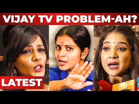 """Madhumitha Suicide Attempt பண்ணது தப்பு"" - Meera Mithun and Sakshi Press Meet   Bigg Boss 3"