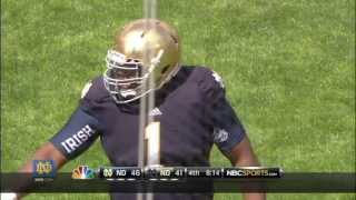 2013 Blue Gold Game Highlights - Notre Dame Football