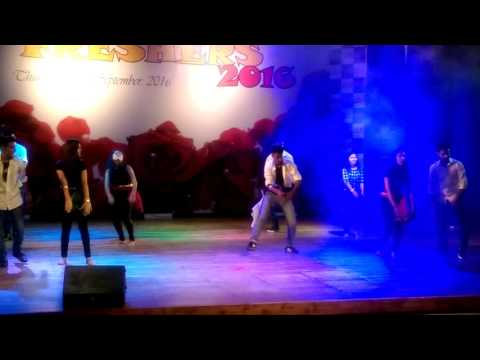 Asian school of business BBA seniors fresher party dance 2016