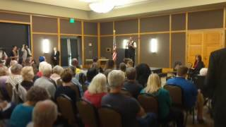 It's a trainwreck when Congressman Bera tells a town hall that they are wrong on healthcare.