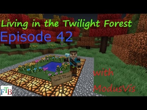 Living in the Twilight Forest Episode 42: Train Station and Resupply Depot