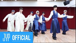 "Gambar cover Stray Kids ""Back Door"" Dance Practice Video (Lovestay 한복 ver.)"