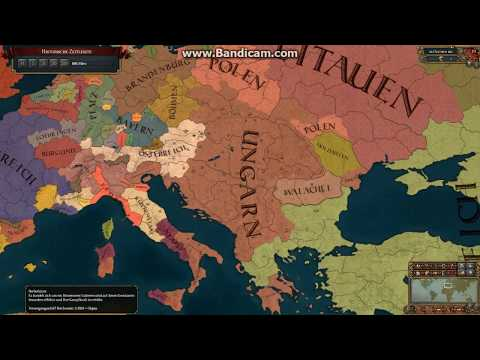 Europa Universalis 4 | Timelapse | 1.21. Hungary One-Tag