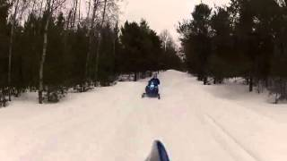 The last sled ride 2014