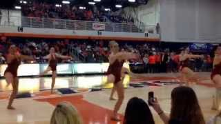 cal state fullerton dance team 2014 csuf homecoming