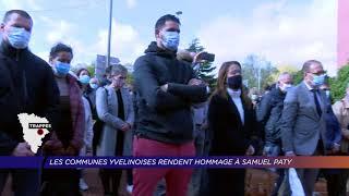 Yvelines | Les communes yvelinoises rendent hommage à Samuel Paty