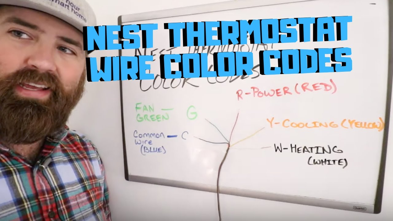 Nest Thermostat Wire Colors  Explained