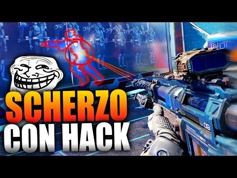 TROLLARE USANDO LE HACKS!! - SCHERZO DIVERTENTE SU COD