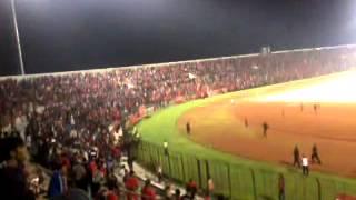 Tawuran supporter PERSIBA (Indonesia) vs PKSN (Malaysia)
