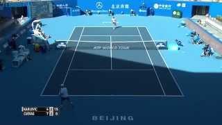 بالفيديو - لقطة تدخل لاعب كرواتي تاريخ التنس برقم يصعب تحطيمه
