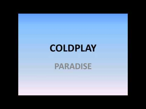 Coldplay Paradise Karaoke Version