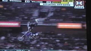 Some X games 15 Dirt Bike Freestyle