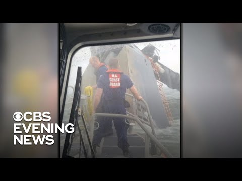 Search continues for 12 crew members missing in Gulf