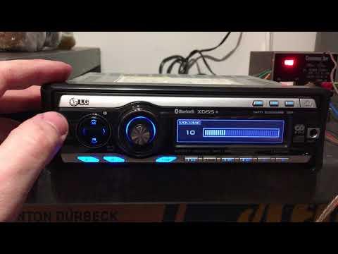 LG LAC7750R Car Radio Bluetooth LAC 7750R