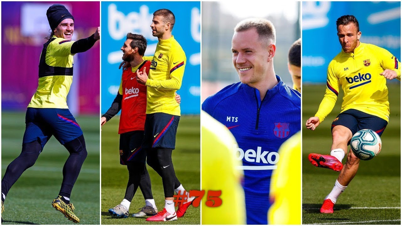 LAST TRAINING SESSION BEFORE EL CLASICO / BARCA MOMENTS - #75