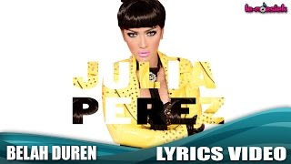 Gambar cover Julia Perez - Belah Duren (New Version) (Official Lyrics Video)