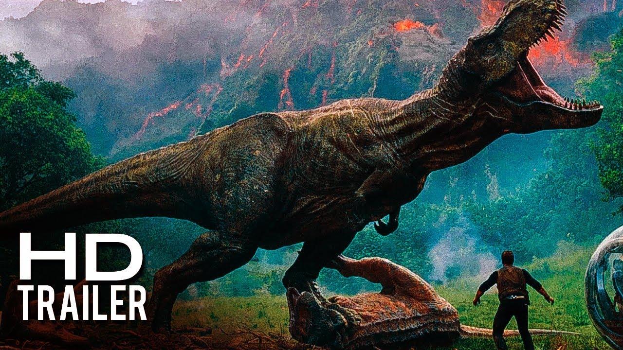 Jurassic World 2 Fallen Kingdom El Reino Caído Tráiler Oficial Sub Español Latino 2018 Youtube