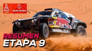 Peterhansel gana y da un golpe de efecto | Resumen Etapa 9 Dakar 2021 | SoyMotor.com