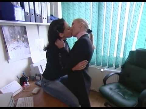 Hot Lesbians Kissing and making out at office from YouTube · Duration:  58 seconds