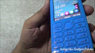 Nokia Asha 206 Full Review, Unboxing,  Camera, Gaming, Benchmarks, Price and Value For Money
