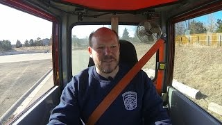 Verbrugge View – City Manager Drives Fire Truck