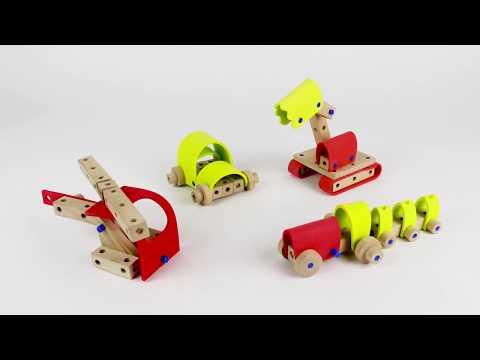 14583 SES Carpentry set Vehicles