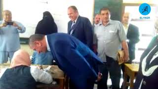 محافظ كفر الشيخ يطمئن على الطلاب في امتحانات الإعدادية (صور)