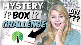 DIY Dollar Tree Decor Mystery Box Challenge | Dollar Tree Farmhouse DIYS | Krafts by Katelyn