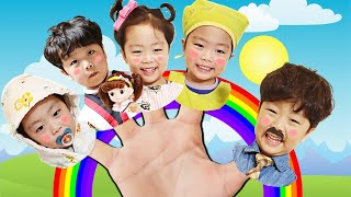 지환이가족 핑거패밀리송 신나게 함께 불러요 Jihwan's Finger Family song. Let's sing it together.